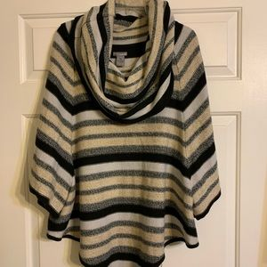 New Directions Cowl Neck Sweater Plus Size